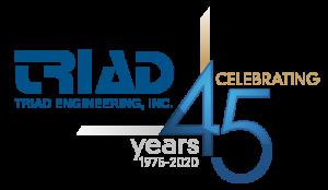 TRIAD_45th-logo