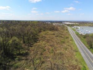 aerial photo, site documentation