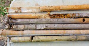 unique soil samples